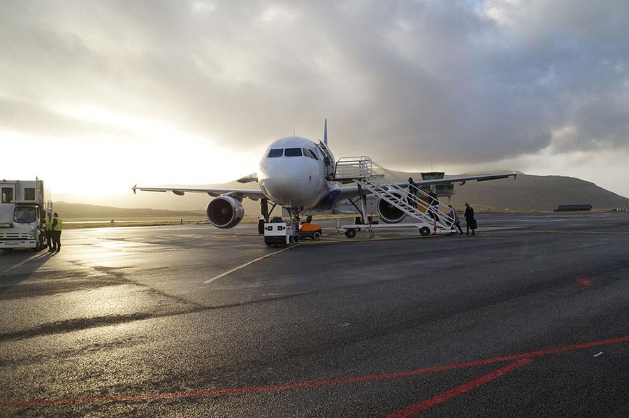 чартерный самолет