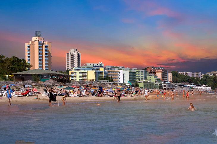 пляж Город Несебр
