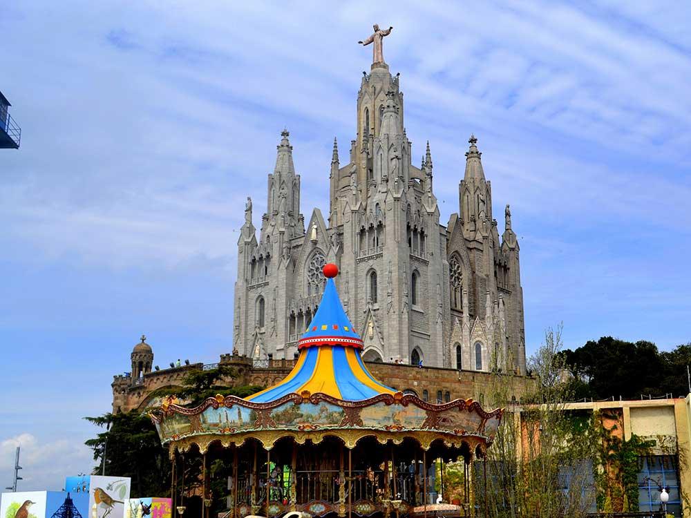 Храм Святого Сердца Барселона